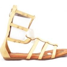 Sandale dama bej