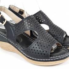 Sandale dama negre Olga