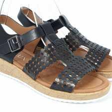 Sandale dama negre Valentina