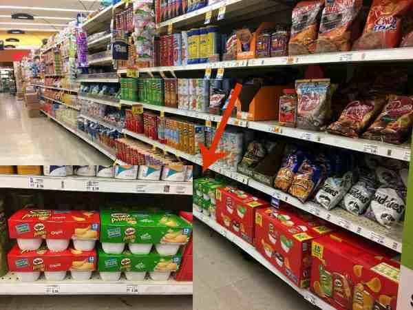 Easy Halloween Treats: Mummy Pringles - Sand and Snow