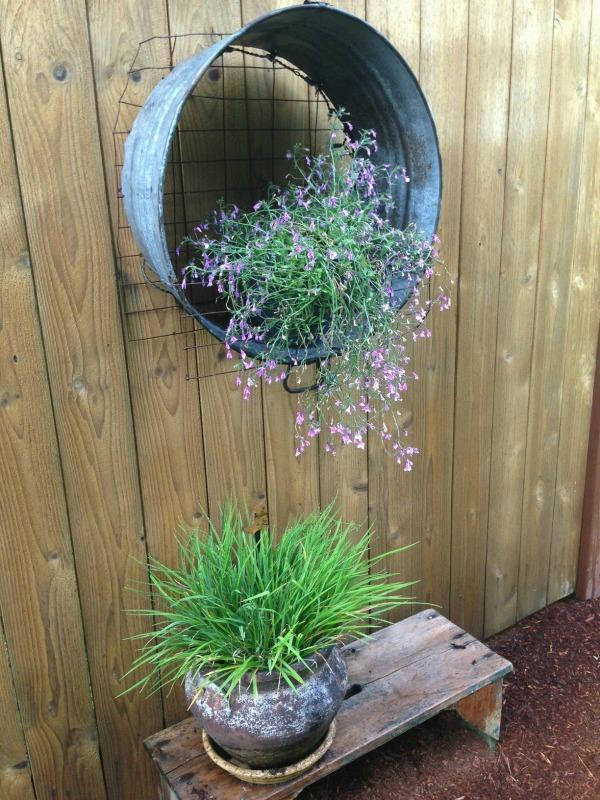Creative Planters & Outdoor Decor - Sand and Sisal on Garden Decor Ideas  id=38328