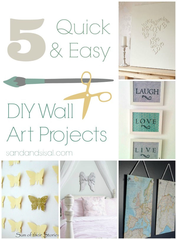 Quick Wall Decor Ideas