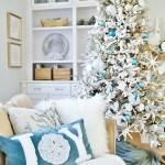 16 Chic Coastal Christmas Tree Ideas Sand And Sisal