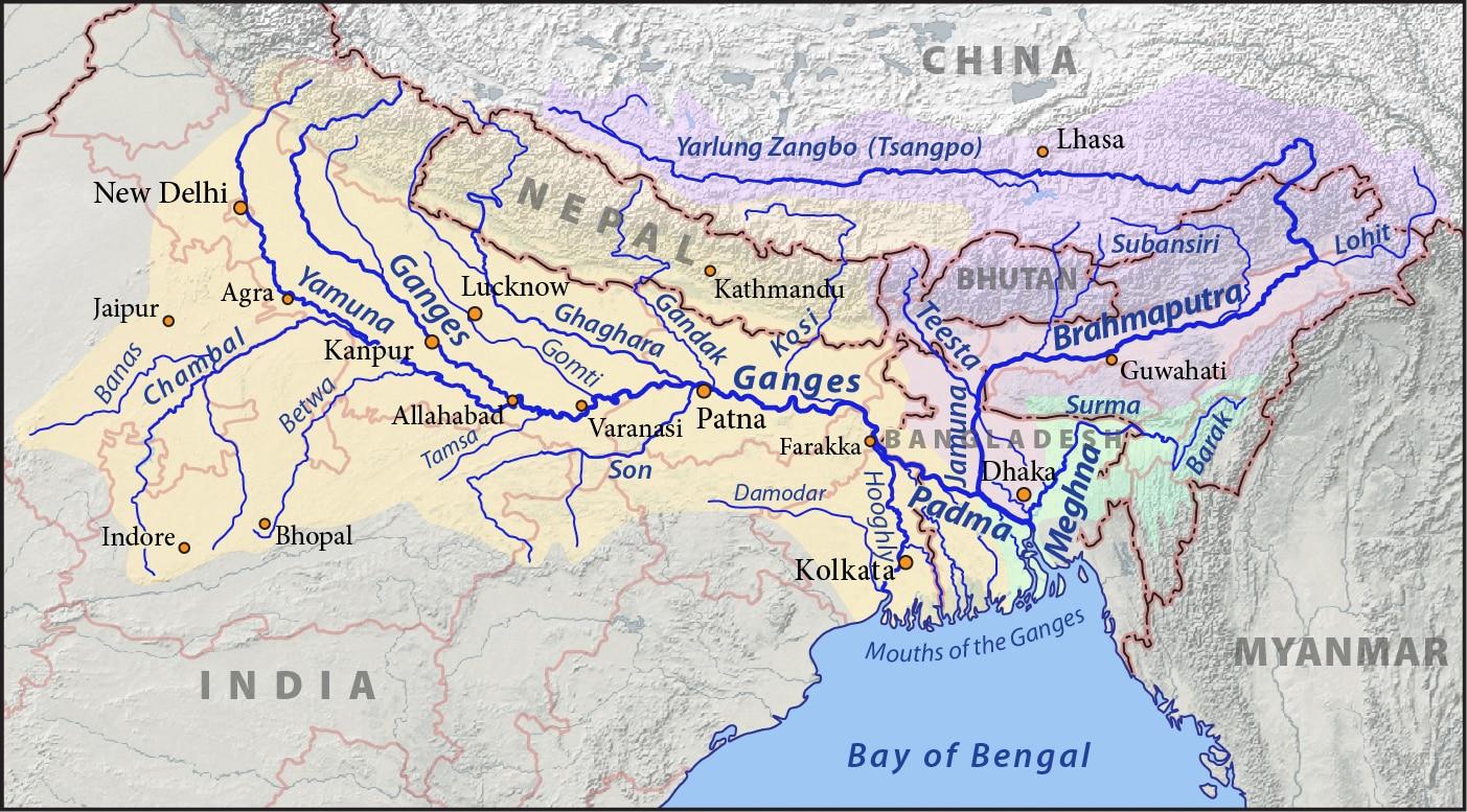 Himalayan Rivers Ganga River System Sandarbha
