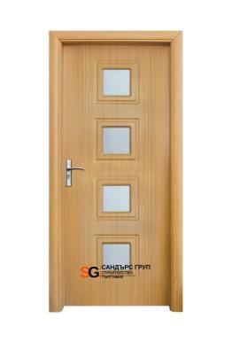 Интериорна врата модел 021 A Светъл Дъб