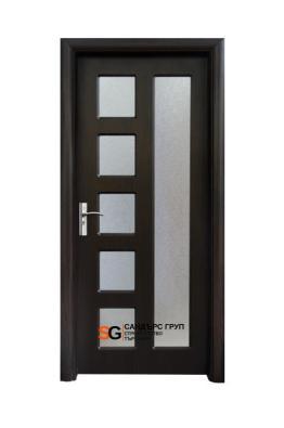 Интериорна врата модел 048 B Венге