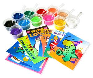 Sand Art Supplies Kids Craft