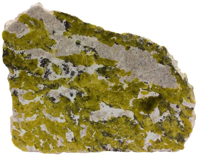 Magnesite with serpentinite
