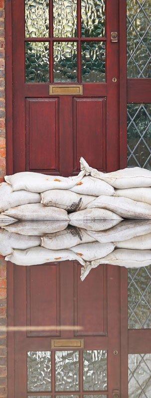 Sand bag protection