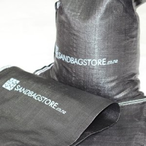 Black Super-duty Sandbags