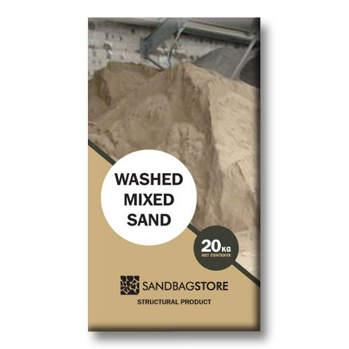 Washed Mixed Sand - 20kg