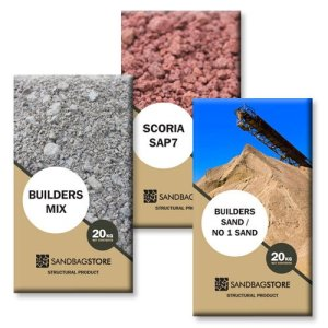 Bags of Sand & Aggregate