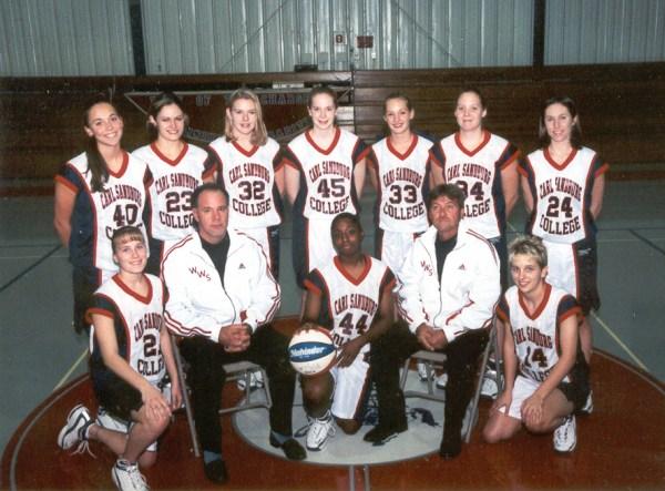 2000-01 Women's Basketball Team