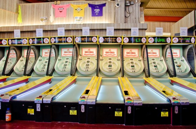 Ocean City Skee Ball