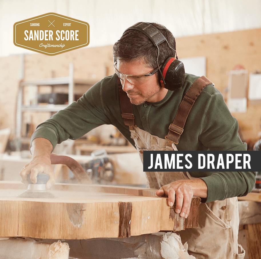 James Draper at the Shop