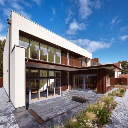 Private home exterior CGI