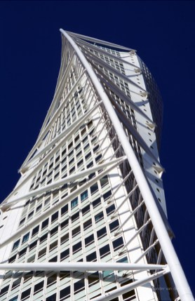 The HSB Turning Torso in Malmo.