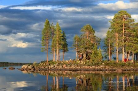Camping at lake Karats