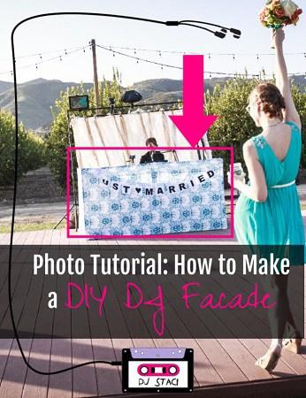 How to Make DIY DJ Facade - Photo Tutorial