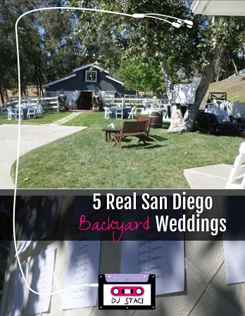 Great 5 Real San Diego Backyard Weddings