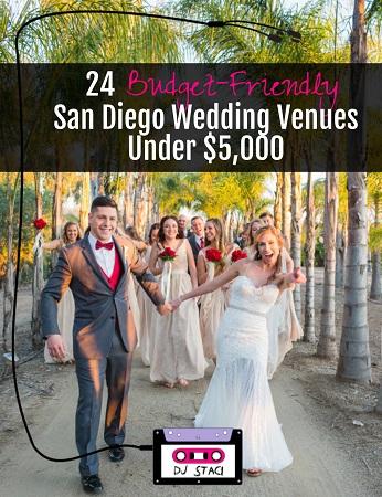 24 Budget Friendly San Diego Wedding Venues Under 5 000