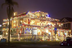 San Diegos Best Map Of Christmas Lights