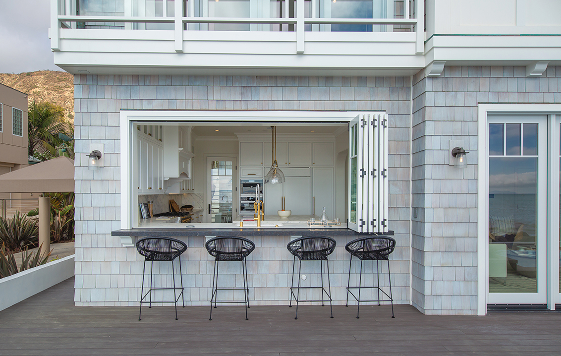 4 ways to open your kitchen to the outdoors