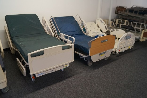 Reconditioned Hill Rom and Stryker hospital beds for sale