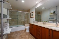 Bathroom in a High Raised Condo, Downtown San Diego, The Mark