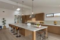 Modern Luxury Kitchen Island - angled view