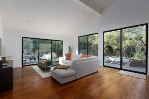 retro modern family room