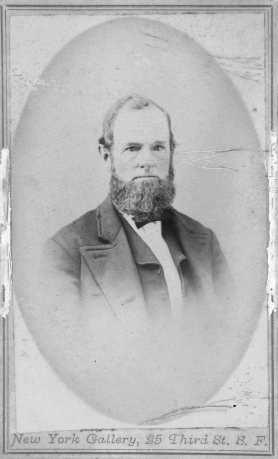 Alonzo Horton, ca. 1868.