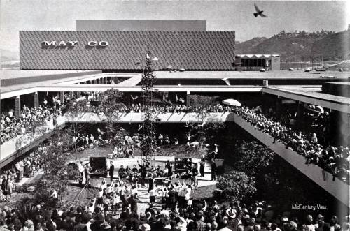 Mission Valley Shopping Center opens, February 20, 1961.