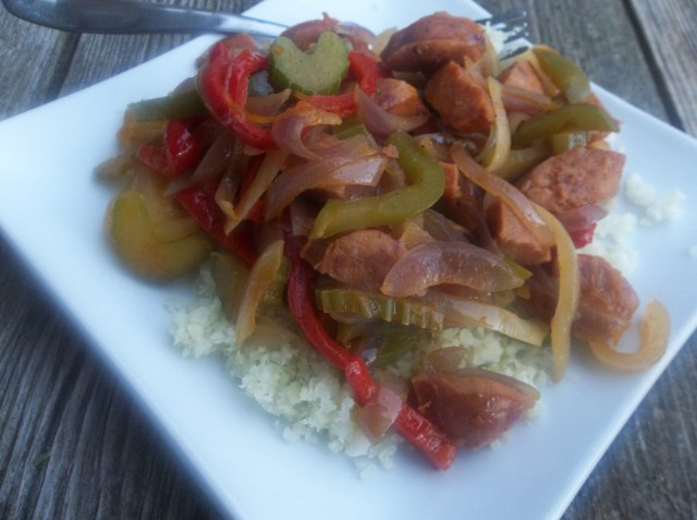 Sausage and Pepper Stir Fry