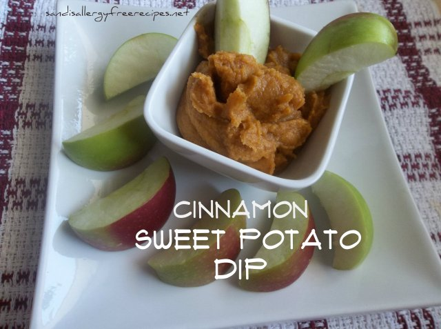Cinnamon Sweet Potato Dip