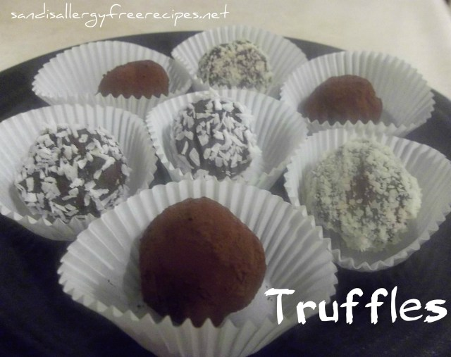 Coconut-Milk Truffles