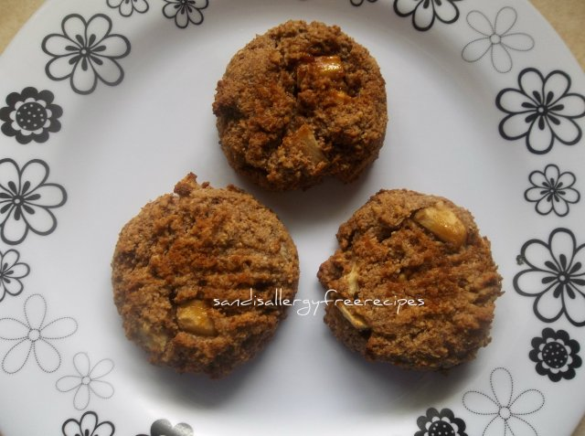 Grain Free Spice Apple Scones