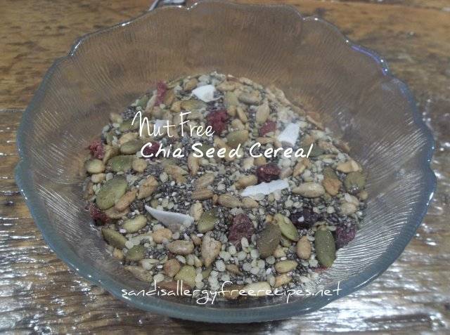 Chia Seed Cereal-Nut Free