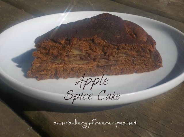 Vegan Apple Spice Cake