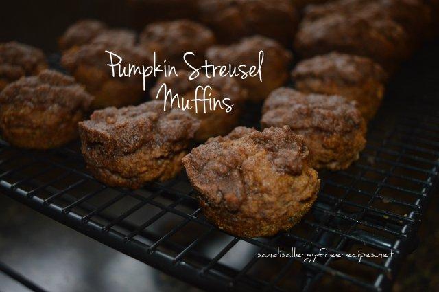 PumpkinStreusel Muffins