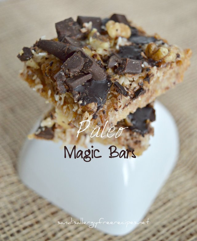 Paleo Magic Bars