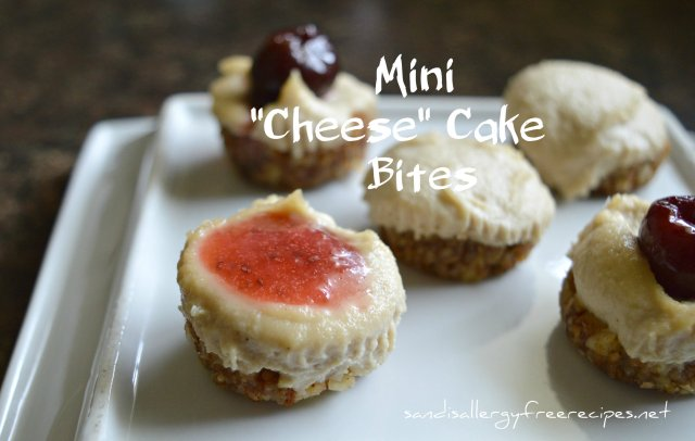 Mini Vegan Cheese Cake Bites