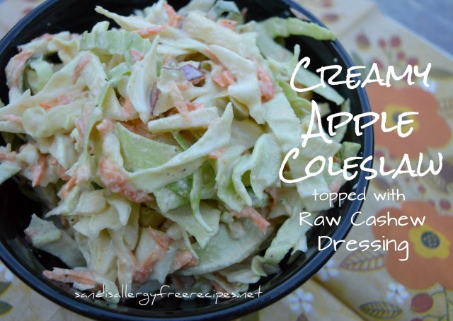 Creamy Apple Coleslaw