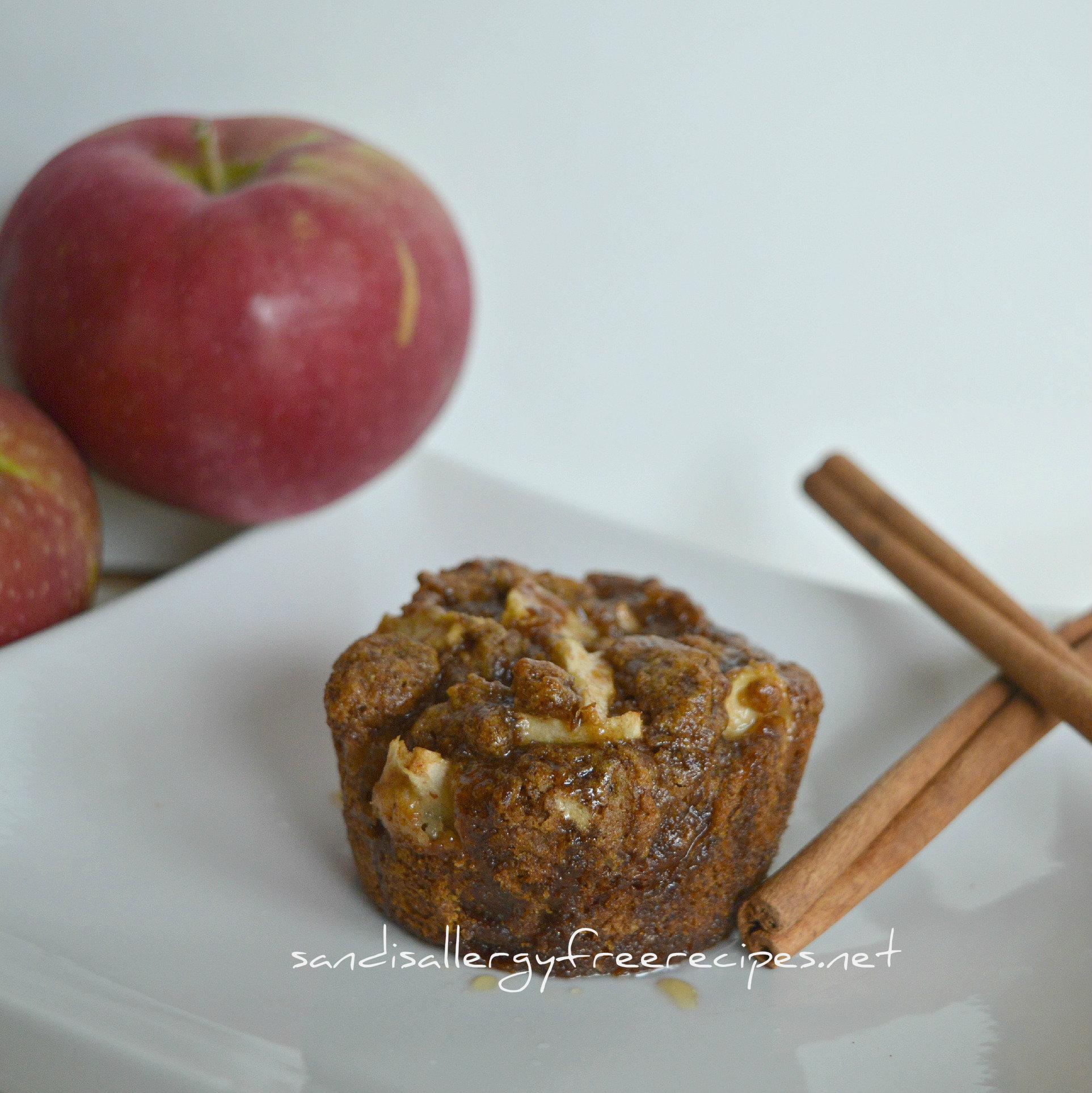 Apple Fritter Muffins (Gluten Free/ Vegan/ Dairy Free ...