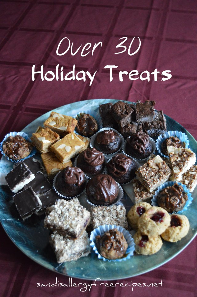 Over 30 Gluten Free Treats