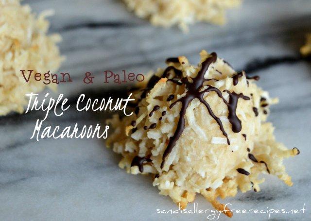Triple Coconut Macaroons