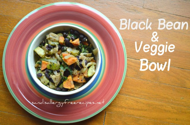 Black Bean & Veggie Bowl