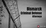 Bismarck Criminal Defense Attorneys - Sand Law PLLC - North Dakota