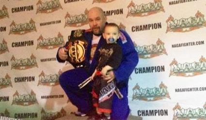 Adrian Serrano MMA Fighter
