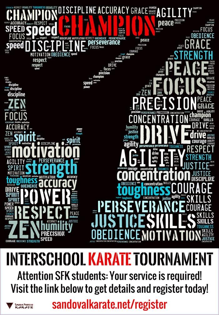 Interschool Karate Tournament in Gilbert
